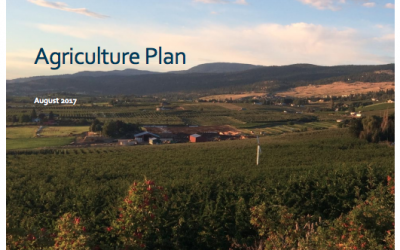 City of Kelowna Agriculture Plan
