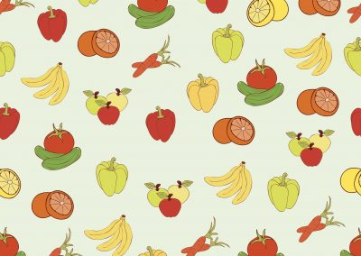 Fun fruits and vegetables